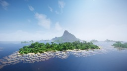 """Volacanic Island"" By ClemsDX - WorldPainter Minecraft Map & Project"