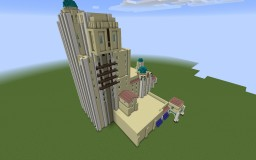 The Twilight Zone Tower of Terror Starting Point. DCA. Minecraft Map & Project