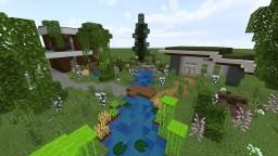 Small neighbourhood [city p1] Minecraft Map & Project