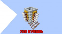 The Kyreen: Player cannon Minecraft Map & Project