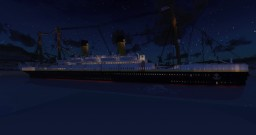 RMS Elfitania Explosion Minecraft Map & Project