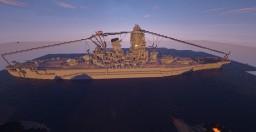 IJN Yamato (Ten Ichi Go) in progregress very bad photo Minecraft Map & Project