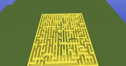 BIG GOLD MAZE Minecraft