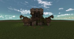 Winged Towerhouse Minecraft Map & Project