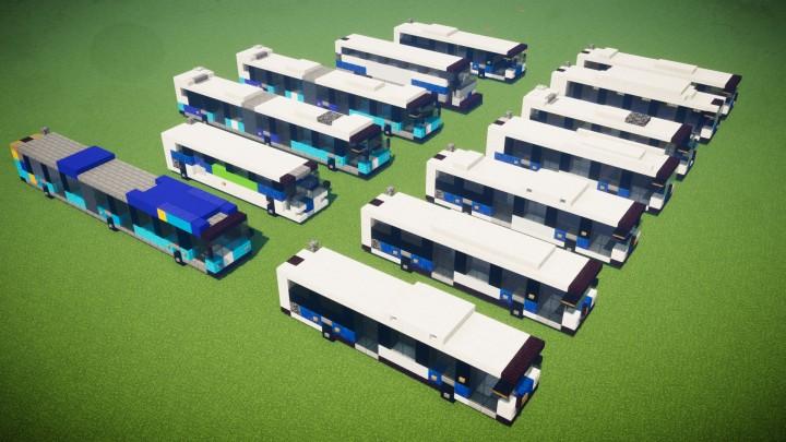 Popular Server Project : New York City MTA Bus Fleet Pack (13 Designs)