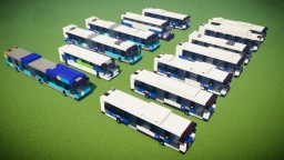New York City MTA Bus Fleet Pack (13 Designs) Minecraft Map & Project