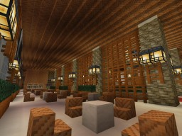 Japanese Inspired Hotel Minecraft Map & Project