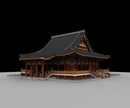Asakusa Kannon Sensoji & Kaminarimon Minecraft Map & Project