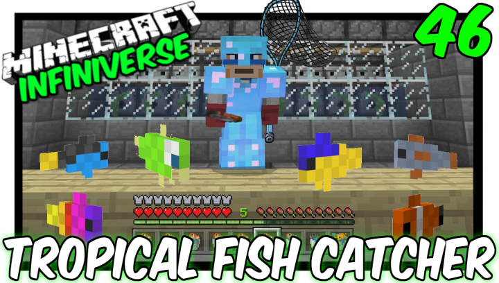"Popular Blog : ""Tropical Fish Catcher"" [46] Minecraft Bedrock Edition"
