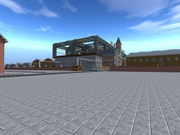 Cronos-Corporation Shipyard Minecraft Map & Project