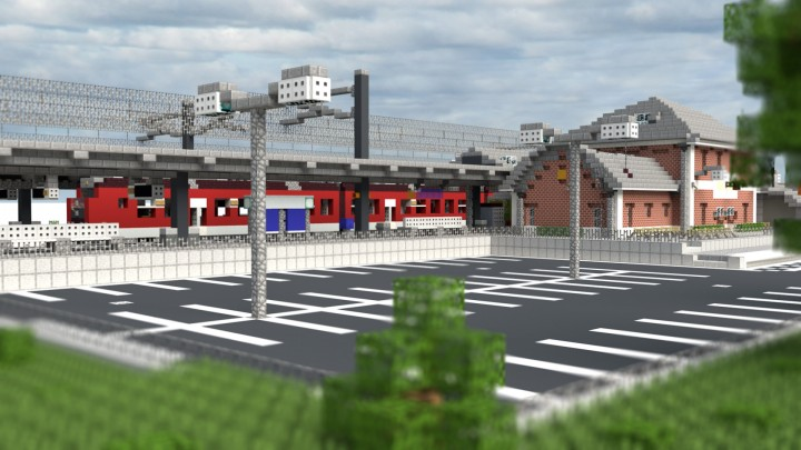 Popular Project : Type of an German Rail Station