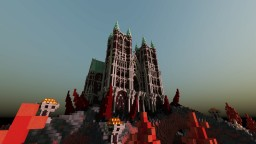 Nether Cathedral - Spawn Minecraft Map & Project