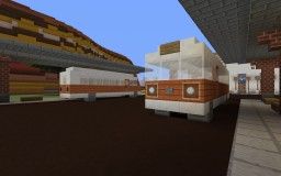 Bus Station Minecraft Map & Project