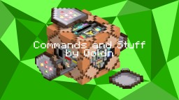 Commands & Stuff (1.7.10 to 1.12.x) Minecraft Mod
