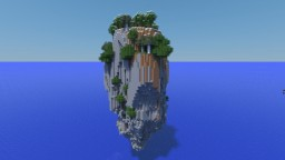 Floating Rock Minecraft Map & Project