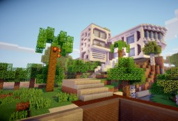 Paradise Manor Minecraft Map & Project