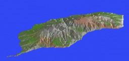 Lost Island 4,000x2,000 (Lost Island Terraforming Contest) Minecraft