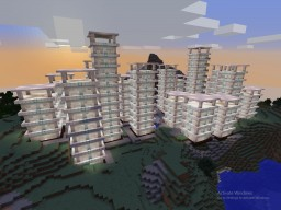 Modern City Minecraft Map & Project