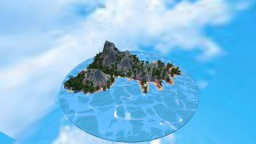 """All that glitters is not gold""-Lost Island Terraforming Contest Minecraft Map & Project"