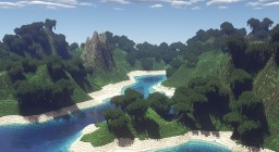 Tropical Paradise - Terraforming Contest Entry Minecraft Map & Project