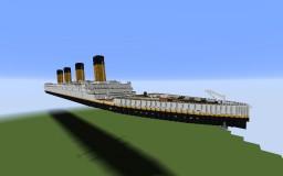 R.M.S. Titanic Minecraft Map & Project
