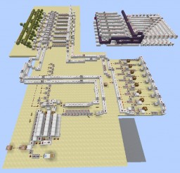 Locked Repeaters Concept for Redstone Computers Minecraft Map & Project