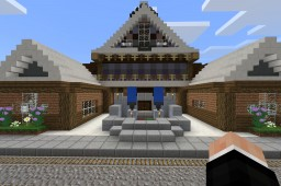 Template Town From Minecraft Edu Minecraft Map & Project