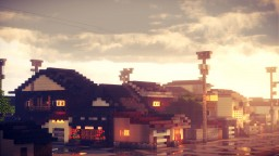 Shichikenmachi, Toyama, Japan Minecraft Map & Project
