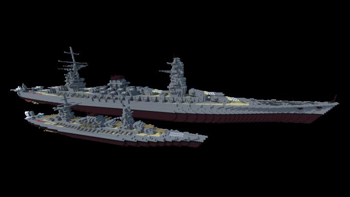 Popular Project : IJN Battleship Izumi - 1:3 Scale