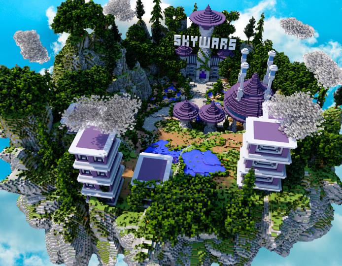 Popular Project : Skywars