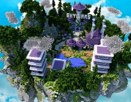Skywars Minecraft Map & Project