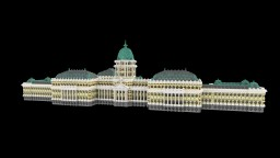 Buda Castle (Hungary) in Minecraft Minecraft Map & Project