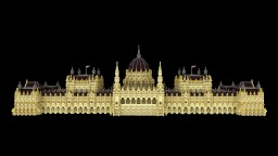 Hungarian Parliament in Minecraft Minecraft
