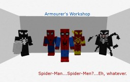 Armourers Workshop - Spider-Man Minecraft Mod