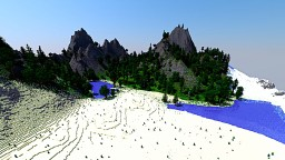 Aethrail - 2,048 x 2,048 Lost Island Terraforming Contest Minecraft Map & Project