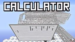 WORKING CALCULATOR in MINECRAFT! [Redstone Creation] Minecraft Blog Post
