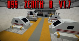 USS Zenith-B v1.7 (New rooms and polishing!) Minecraft Map & Project