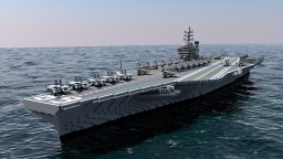 USS Nimitz | CVN-68 Minecraft Map & Project