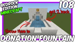Server Donation Fountain Minecraft Map & Project