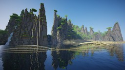 Lost Island Terraforming Contest - Old civilisation Minecraft Map & Project