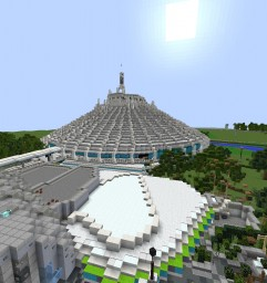 Walt Disney World(Magic kingdom) Minecraft 2018 Minecraft Map & Project