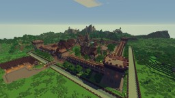 Medieval Fantasy Town Minecraft Map & Project
