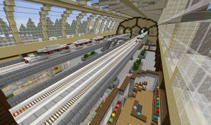 Central Station for monorails