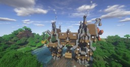 Steampunk Houses Minecraft Map & Project