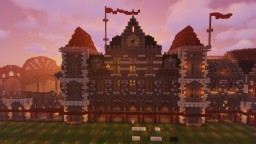 CraftersMC SMP | Train Station Minecraft Map & Project