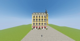 French Neobaroque city building Minecraft