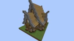 Mittleres Mittelalterliches Haus Minecraft Map & Project