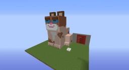 Digital Pet. Tamagotchi. grumpy cat Minecraft Map & Project