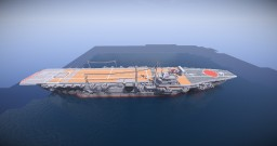 "IJN Aircraft carrier""Kaga"" (After modernization) Minecraft Map & Project"