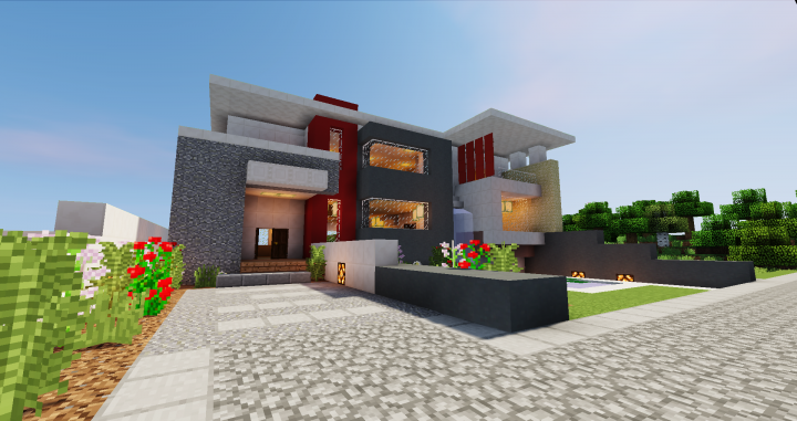 Modern House #6 | SSairex Minecraft Map